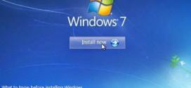Đối với màn hình cài đặt Windows 7
