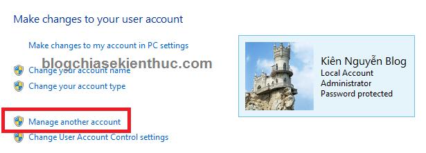 Tạo mật khẩu đăng nhập trên Windows 8