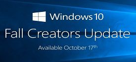 Windows 10 Fall Creators Update 1