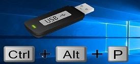 Cách thiết lập phím tắt để rút USB an toàn trên Windows