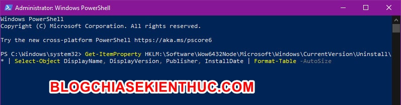 xem-danh-sach-ung-da-cai-dat-tren-windows-10-bang-powershell (2)